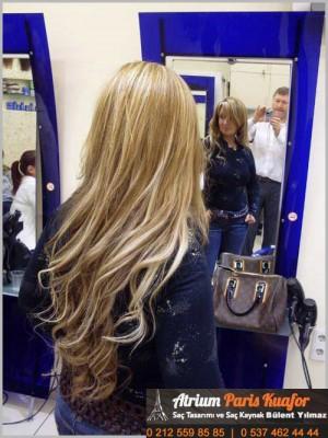 Boncuk Saç Kaynak (Halka Saç Kaynak) Uygulama