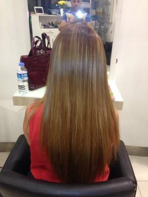 Halka Saç Kaynak Öncesi Sonrası