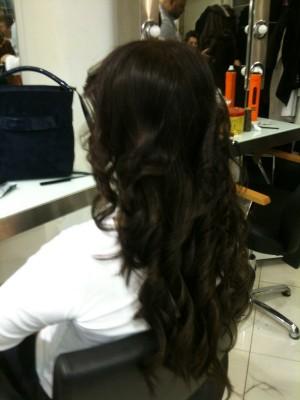 Keratin Saç Kaynak Uygulaması Öncesi Sonrası
