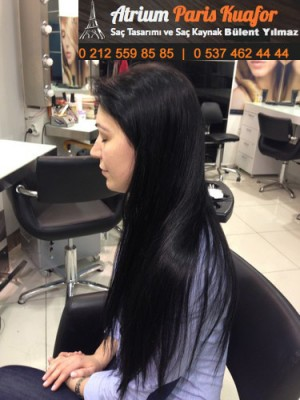 Yeni Bir Saç Kaynak Tekniği Ultra Uçlu Saç Kaynak